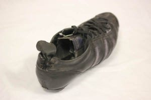 Boot worn by Uwe Seeler, 1966.