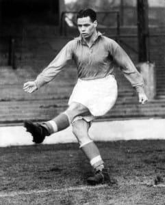 Billy Liddell March 1951 Ex- Scottish international and Liverpool player. Pic via Mirrorpix.