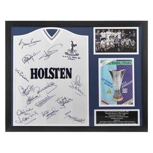 SIG-BYC-0025 Tottenham 1984 shirt multi signed