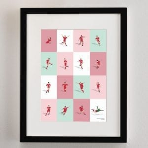 Liverpool's Greatest Players Print