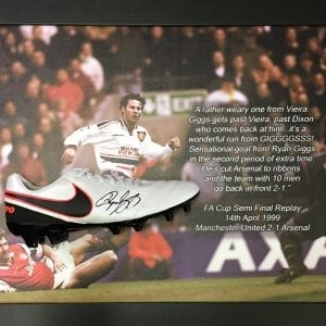 Giggs boot printed mount s