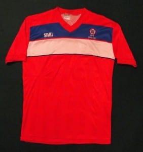 WFA England National team jersey 1980s