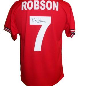 Bryan Robson 7 shirt