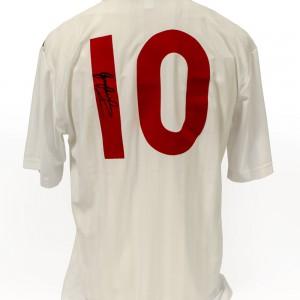 Signed-Gary-Lineker-England 1986-Shirt (3)