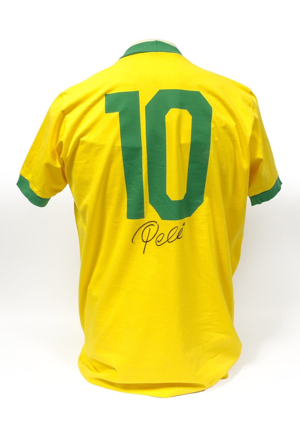 93caab7b5 Pele Brazil Signed Shirt - Unframed