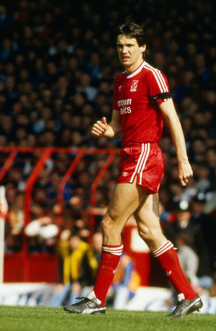 A cool and composed centre-half, Hansen featured over 600 times for Liverpool. Pic courtesy of Mirrorpix.