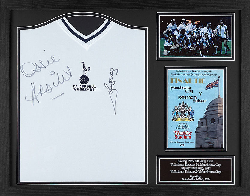 best sneakers aec92 48004 Ardiles and Villa Signed Tottenham Hotspur Shirt