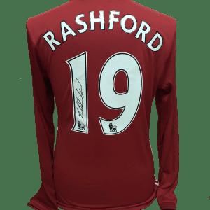 Rashford 19 shirt long sleeve 16-17