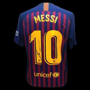 Lionel Messi Signed Shirt – Unframed