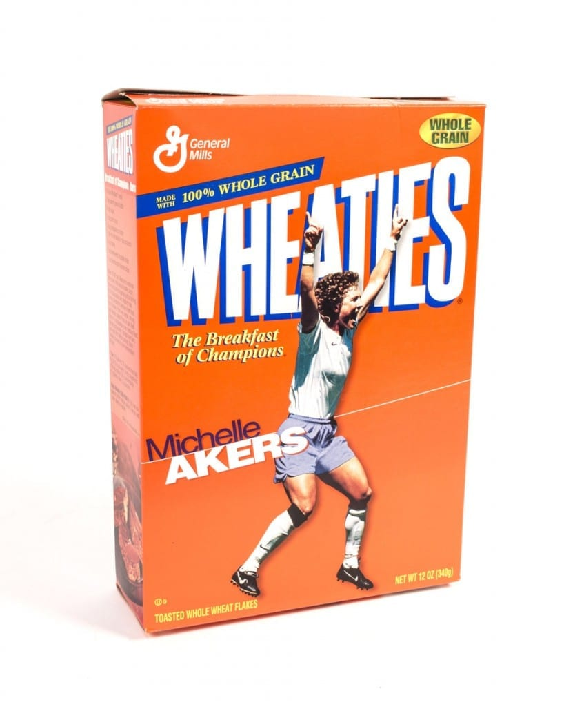 'Wheaties' Cereal Packet Featuring USA Player Michelle