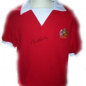 bobby charlton 70s shirt front