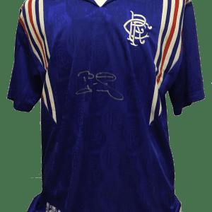 laudrup rangers shirt