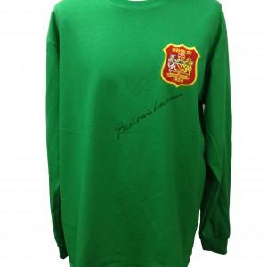 trautmann green shirt