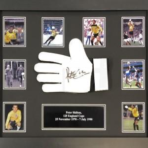 Peter Shilton Signed Glove