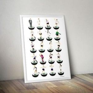 Bolton Wanderers Subbuteo Print – Unframed