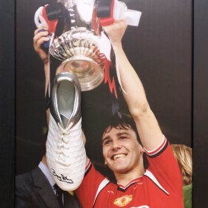 Bryan Robson Signed Boot – Framed