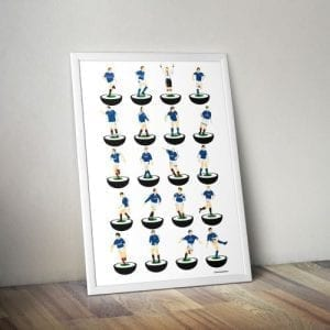 Glasgow Rangers Subbuteo Print – Unframed