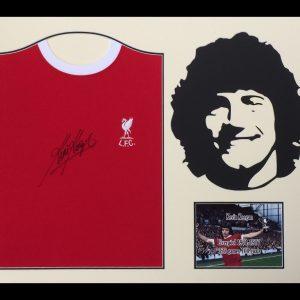 Kevin Keegan Signed 1973 Liverpool Shirt – Framed