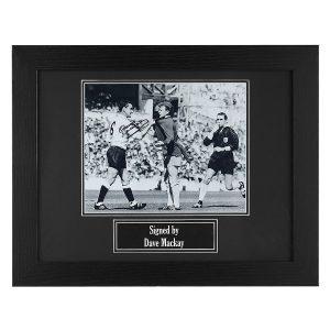Dave Mackay Signed Photo – Framed