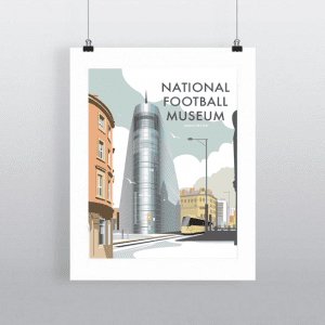 Dave Thompson Illustration: National Football Museum