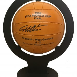 Sir Geoff Hurst Signed 1966 Football Inc Stand
