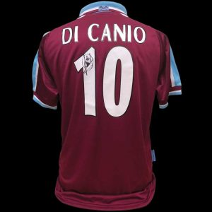 Paolo Di Canio 2000 Signed West Ham Shirt