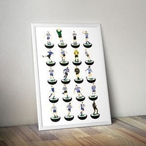 Sheffield Wednesday Subbuteo Print – Unframed