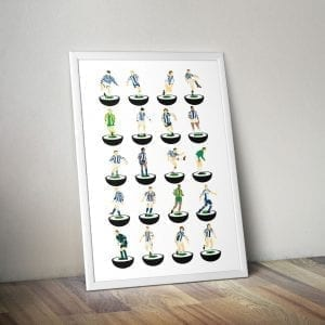 West Brom Subbuteo Print – Unframed