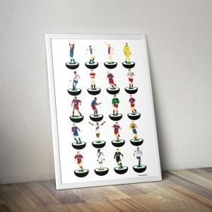 Crystal Palace Subbuteo Print – Unframed
