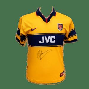Dennis Bergkamp Signed Arsenal 1997/98 Shirt