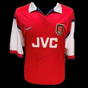 Dennis Bergkamp Signed Arsenal 1998/99 Shirt