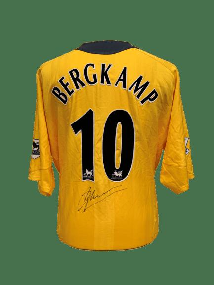 the latest a6cbd c27c2 Dennis Bergkamp Signed Arsenal 2005/06 Shirt