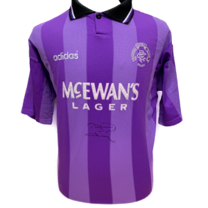 Brian Laudrup Signed Rangers 1994/95 Shirt