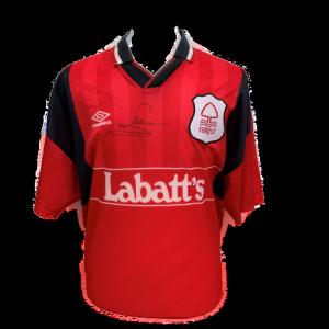 Stuart Pearce Signed Nottingham Forest 1994/96 Shirt