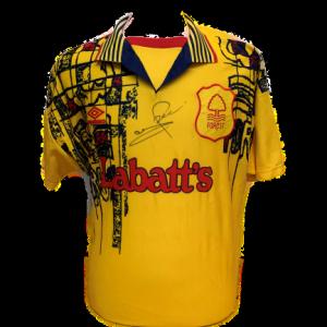 Stuart Pearce Signed Nottingham Forest 1995/97 Shirt