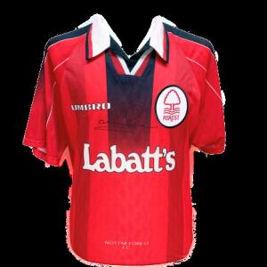 Stuart Pearce Signed Nottingham Forest 1996/97 Shirt