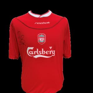 Dietmar Hamann Signed Liverpool 2002/04 Shirt