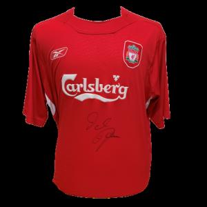 Dietmar Hamann Signed Liverpool 2004/06 Shirt