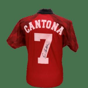Eric Cantona 1998 Manchester United Signed 7 Shirt