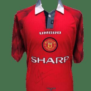 Roy Keane Signed Manchester United 1998 Shirt