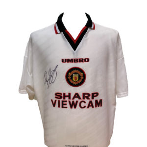 Ryan Giggs Signed Manchester United 1996/97 Shirt