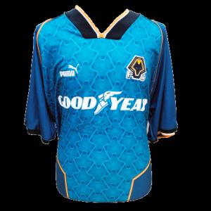 Steve Bull Signed Wolves 1996/97 Shirt