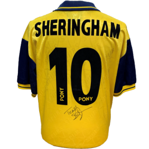 Teddy Sheringham Signed Tottenham 1995/96 Shirt