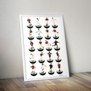 AC Milan Subbuteo Print – Unframed