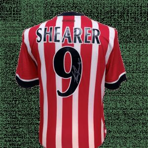 Alan Shearer Signed Southampton Shirt