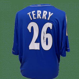 John Terry Signed Chelsea 2012/13 Shirt