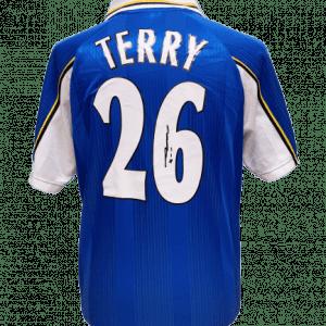 John Terry Signed Chelsea 1998 Shirt