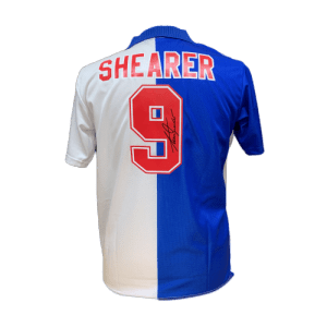 Alan Shearer Signed Blackburn Rovers 1994/95 Shirt