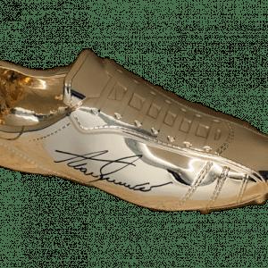 Alan Shearer Signed Gold Football Boot