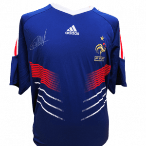 Thierry Henry Signed France 2009/10 Shirt